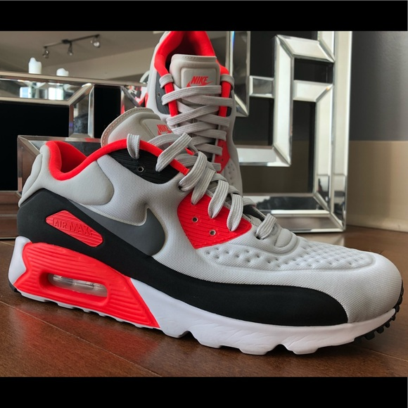 sneakers preview of casual shoes Men's Nike Air Max 90 Ultra SE infrared sz 10.5
